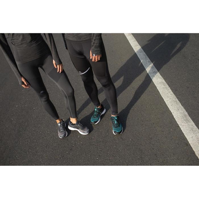 Hardloopschoenen voor heren Kiprun Long zwart groen