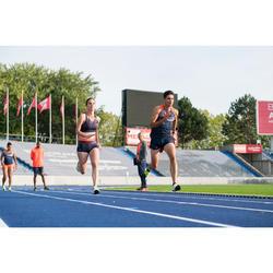 Top Sujetador Running Kalenji Kiprun Mujer Azul Marino/rojo