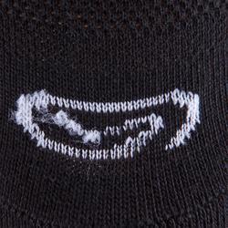 Hardloopsokken Ekiden zwart 3 paar