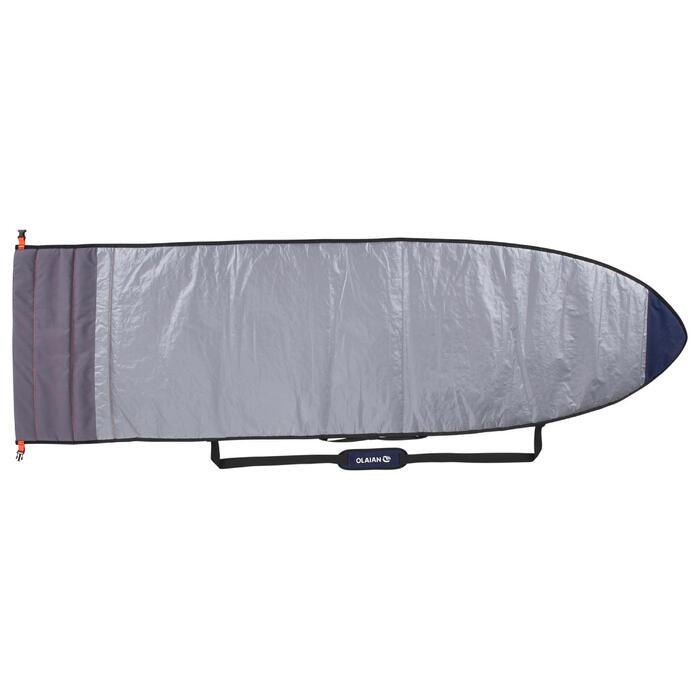 """HOUSSE de Transport Ajustable pour surf de 5'4"""" à 7'2"""" (162 cm à 218 cm)"""