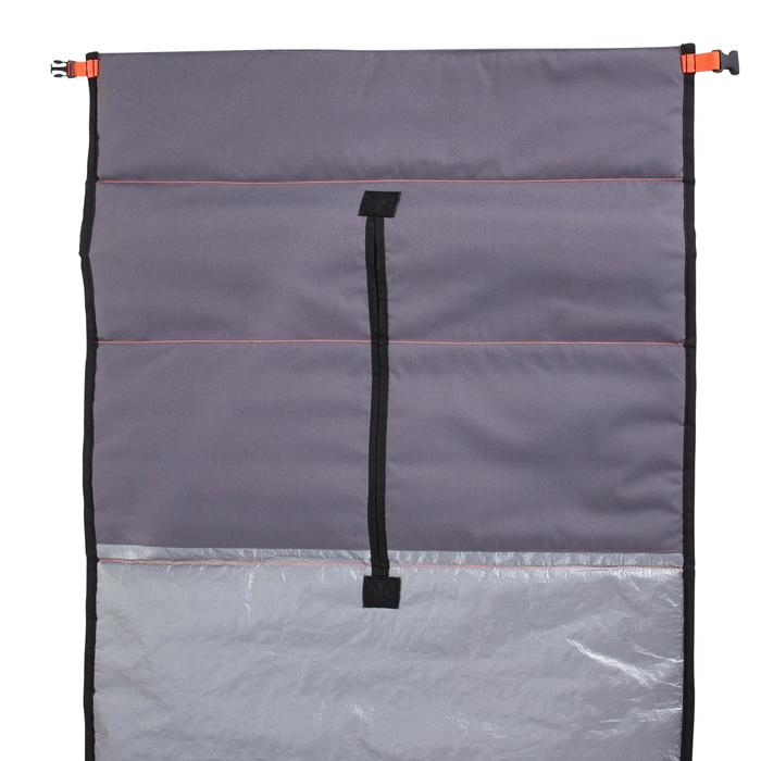 Aanpasbare boardbag voor surfboards van 7'3 tot 9'4 (221 tot 285 cm)