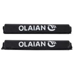 2 Foam and Fabric Bar Pads For Classic Roof Racks