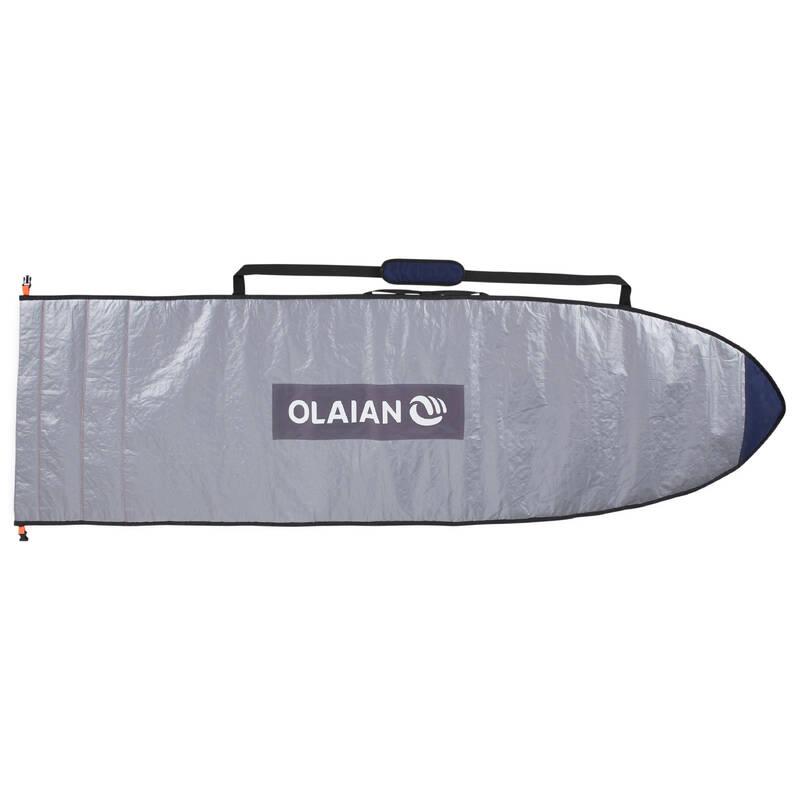 PŘEVOZ A USKLADNĚNÍ PRKNA Surfing a bodyboard - OBAL NA SURF 500 5'4–7'2 OLAIAN - Surfy, bodyboardy a skimboardy