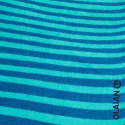 PONCHO SURF JUNIOR 125 à 150 cm Zebra Vert