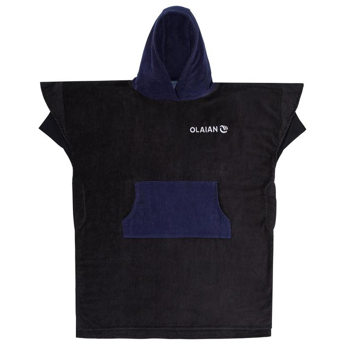 Adult Surf Poncho 900 - Navy