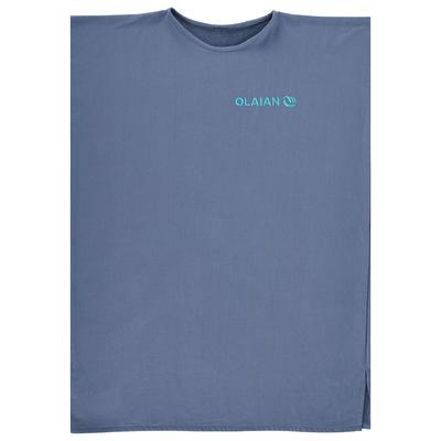 Adult Surf Poncho 100 - Blue