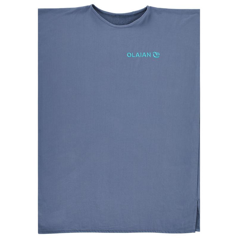 PONCHO SURF ADULTE 100 Bleu