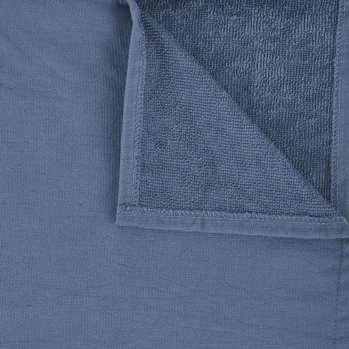 Surf-Poncho 100 Erwachsene blau