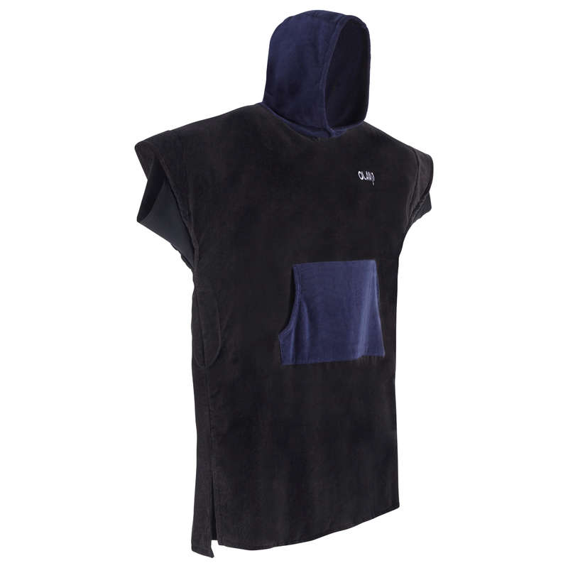 BEACH TOWELS AND PONCHO Surf - Adult Poncho 900 - Navy OLAIAN - Surf Clothing