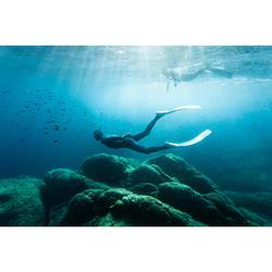Tubo Apnea Pesca Submarina Subea FRD 500 Flexible Adulto Azul Ártico