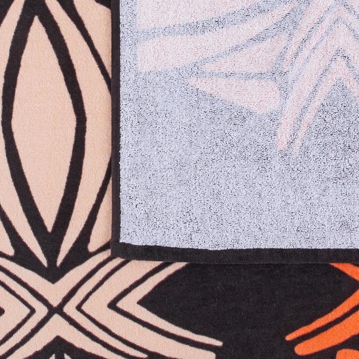 Strandhandtuch Basic L Print Tatoo 145×85cm