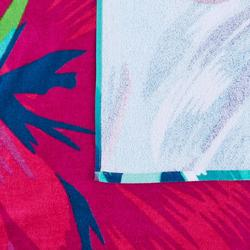 毛巾BASIC L號145 x 85 cm-條紋印花