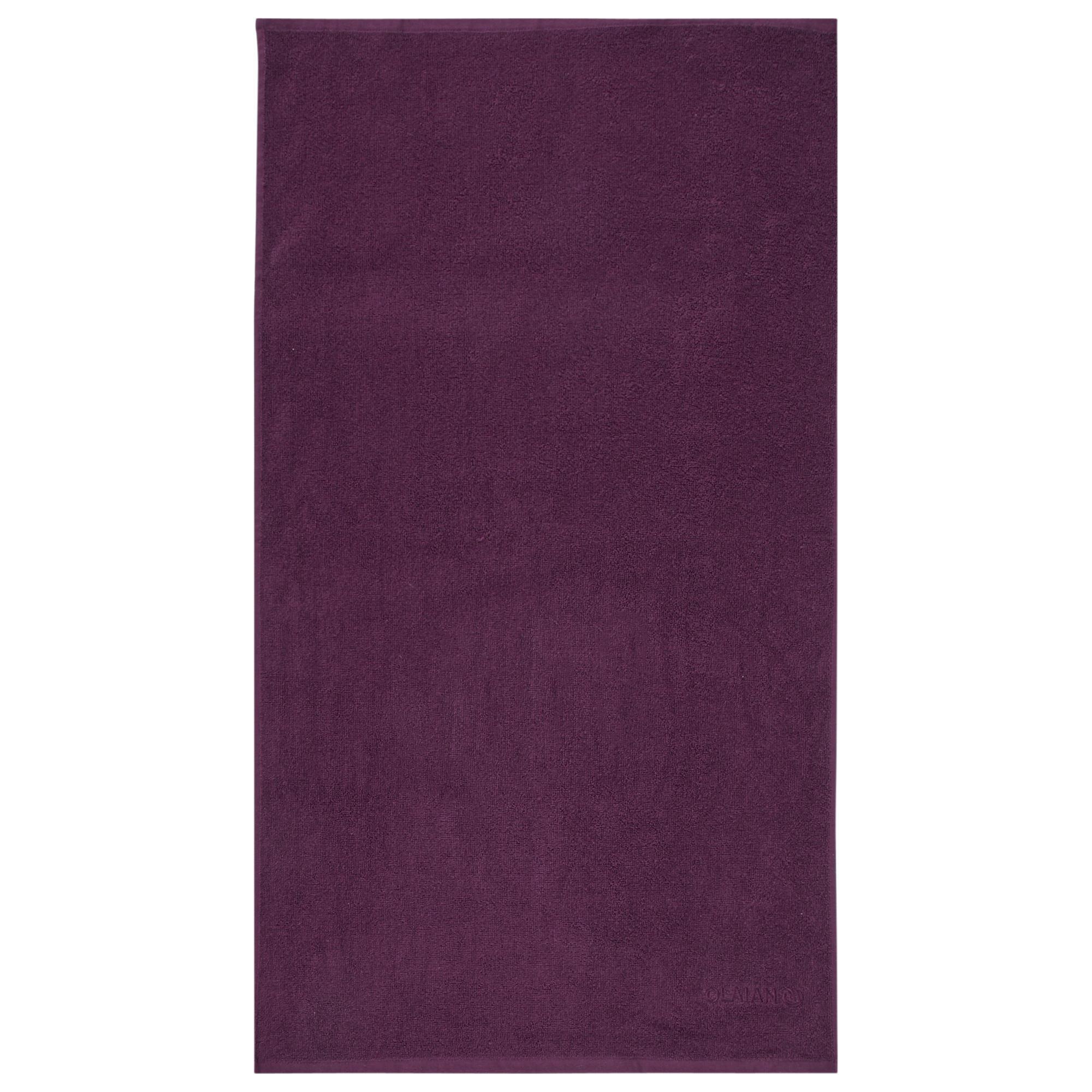 Strandhandtuch Basic S 90 נ50 cm purpurrot