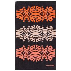 Handdoek Basic L Print Tatoo 145 x 85 cm