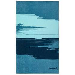 Serviette BASIC L Print Paint 145x85 cm