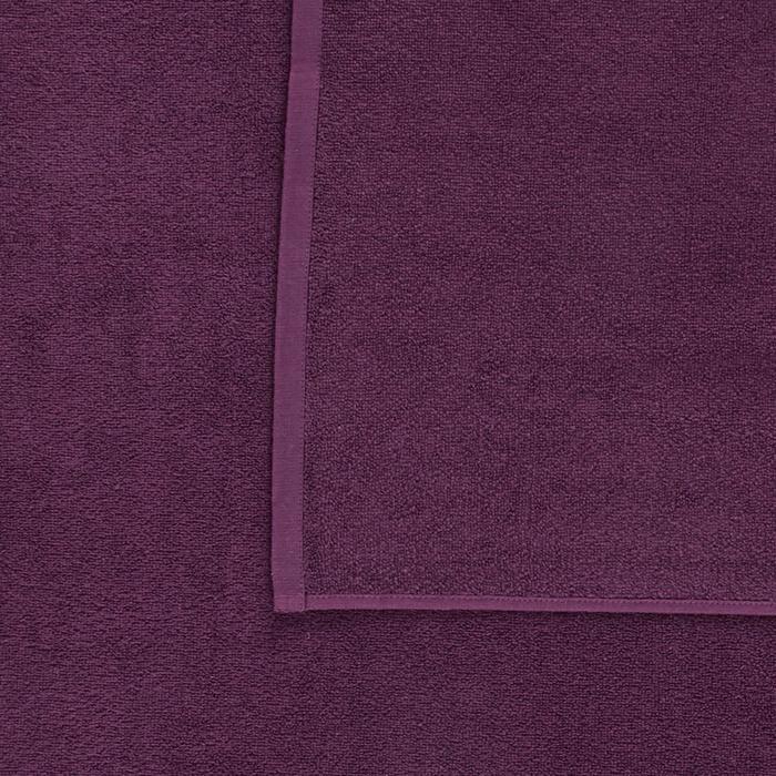 Handdoek Basic L paars 145 x 85 cm
