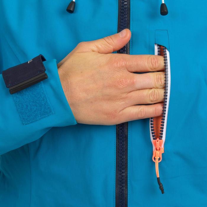 Veste imperméable coupe-vent de voile femme SAILING 500 Bleu