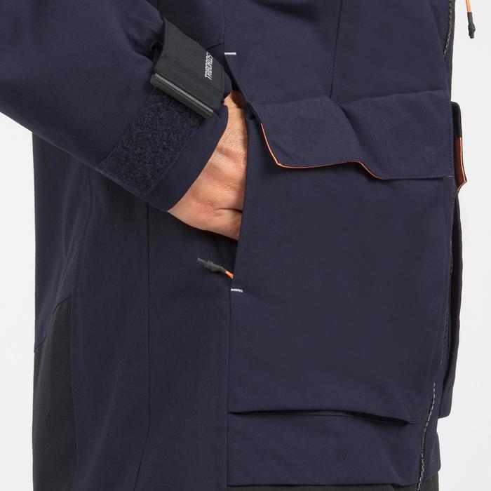 Veste imperméable coupe-vent de voile femme SAILING 500 Navy