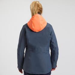 Veste imperméable de voile femme SAILING 300 Gris