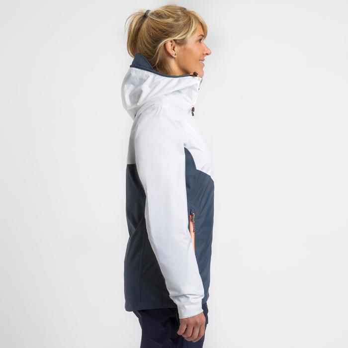Dames zeiljas Sailing 100 grijs wit