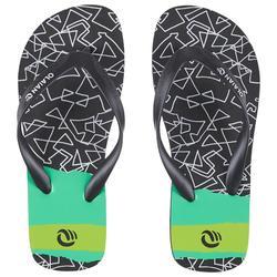 Slippers voor jongens 120 Grib zwart