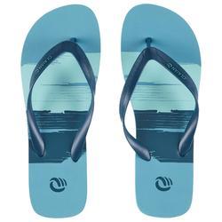 Chanclas De Playa Surf Olaian TO 120 Hombre Azules