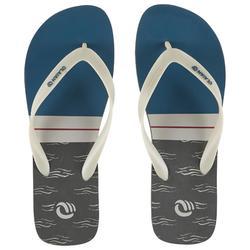 Chanclas De Playa Surf Olaian TO 120 Hombre Caqui