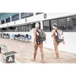 Rugzak 900 voor zwemmen 27 liter print Rocki