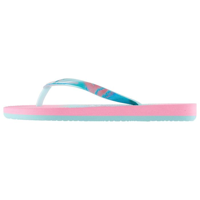 女童款夾腳拖鞋500-甜美款