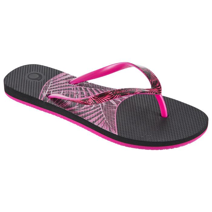 女款夾腳拖鞋500-棕櫚款
