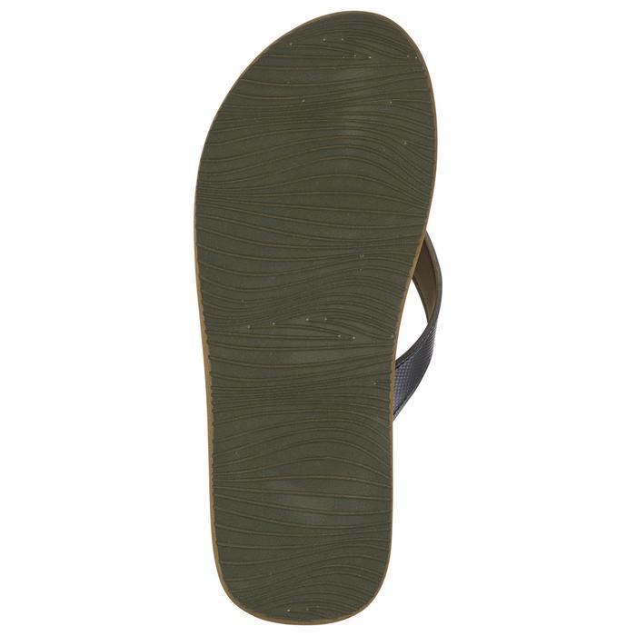 Slippers voor heren 150 donkergrijs