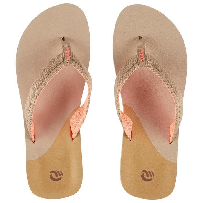 Slippers voor dames 550 camel