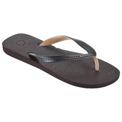 Chanclas De Playa Surf Olaian TO 500 Hombre Marrones