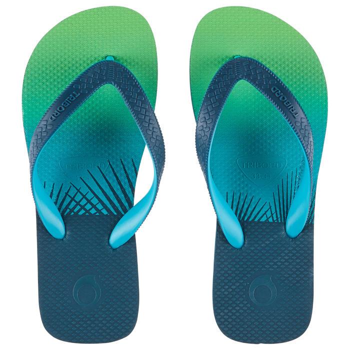 Slippers voor jongens 500 Sunset groen
