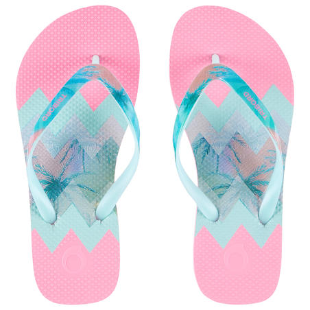 Girls' Flip-Flops 500 - Sweet