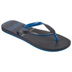 4d19e0569 Chanclas De Playa Surf Olaian TO 500 Hombre Azul Negro