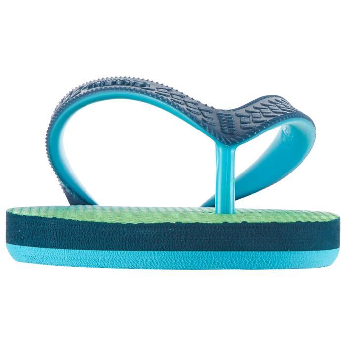 Slippers voor jongens TO 500 Sunset groen