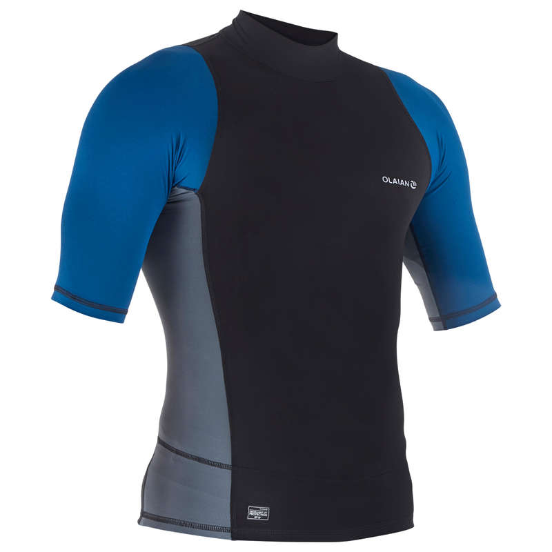 MEN SOLAR PROTECTION WEAR Snorkeling - STAB M UV TOP . BLK OLAIAN - Accessories