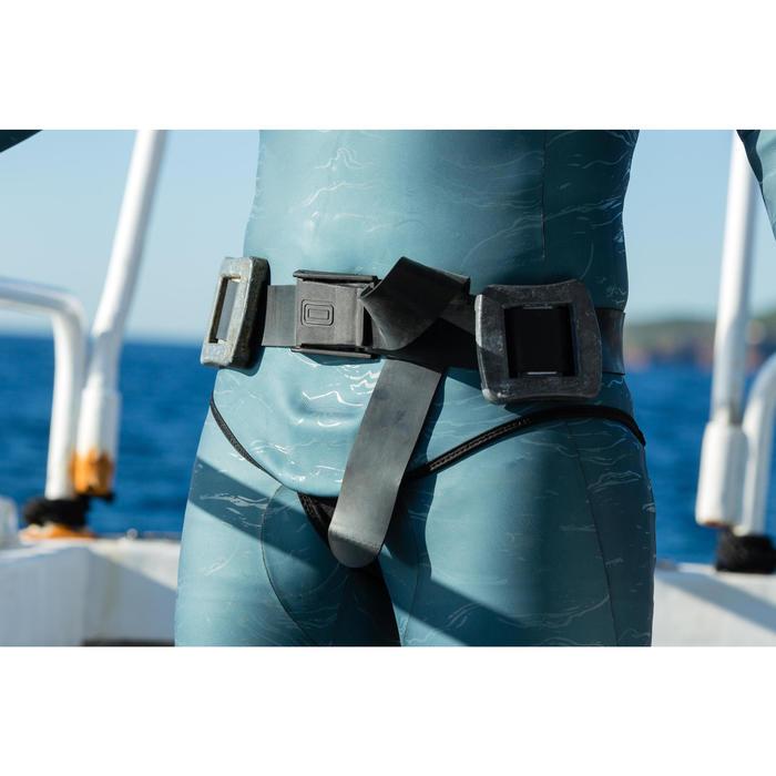 Bleigürtel Freediving FRD500 aus Gummi