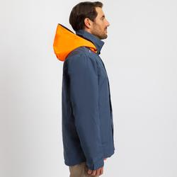 Segeljacke wasserdicht Sailing 300 Herren grau/orange