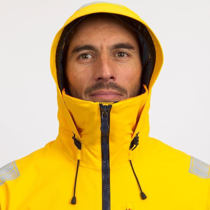 Segeljacke wasserdicht Sailing 500 Herren gelb