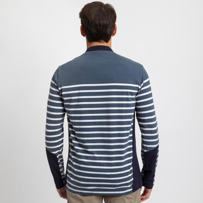 Camiseta de manga larga de vela hombre SAILING 100 Gris