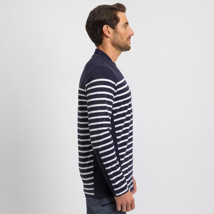 Camiseta de manga larga de vela hombre SAILING 100 Navy