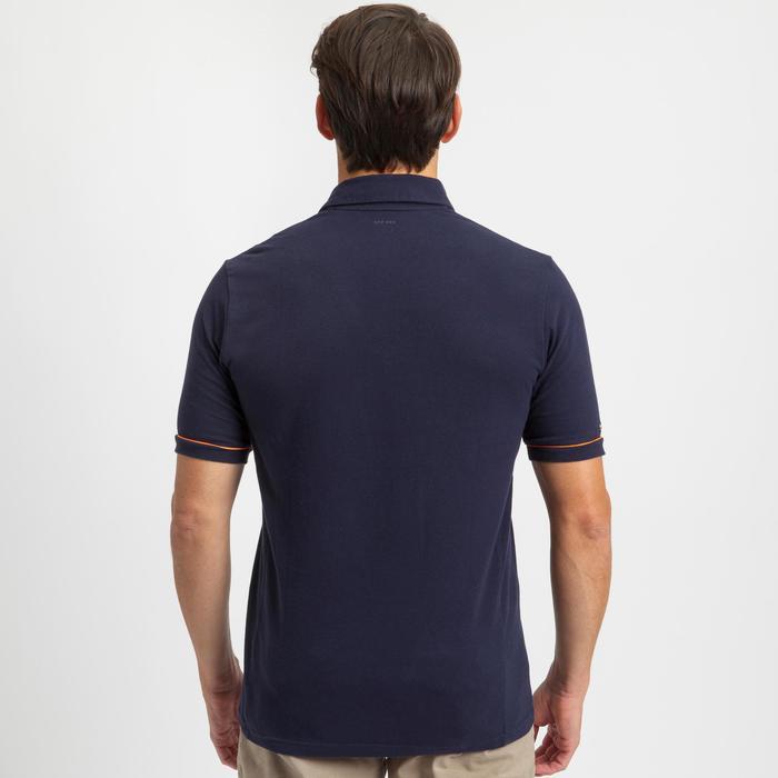 Poloshirt Segeln Sailing 100 Herren marineblau