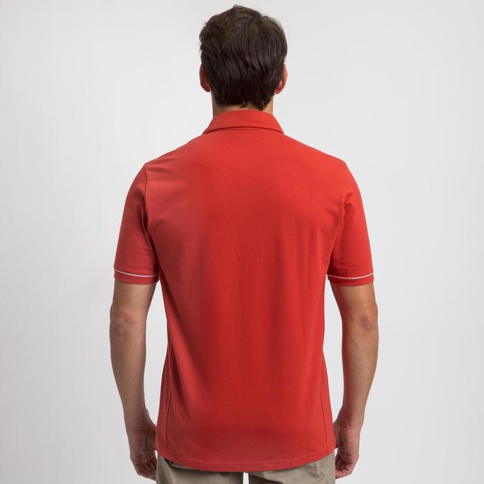 Polo de manga corta de vela hombre SAILING 100 Rojo