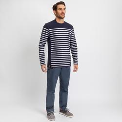 Segelshirt langarm Sailing 100 Herren marineblau