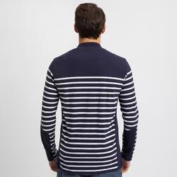 Men's Sailing Long Sleeve T-Shirt 100 - Navy
