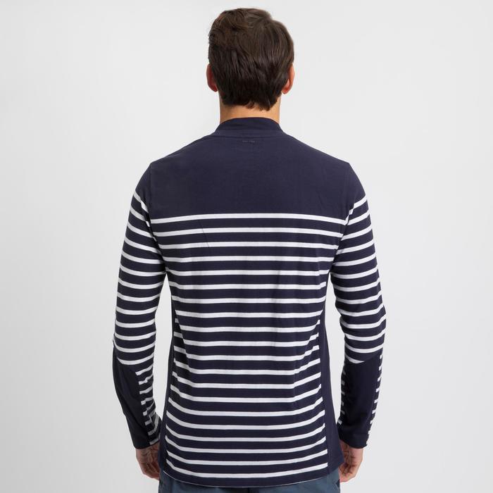 Segelshirt langarm Sailing 100 Maritim Herren marineblau