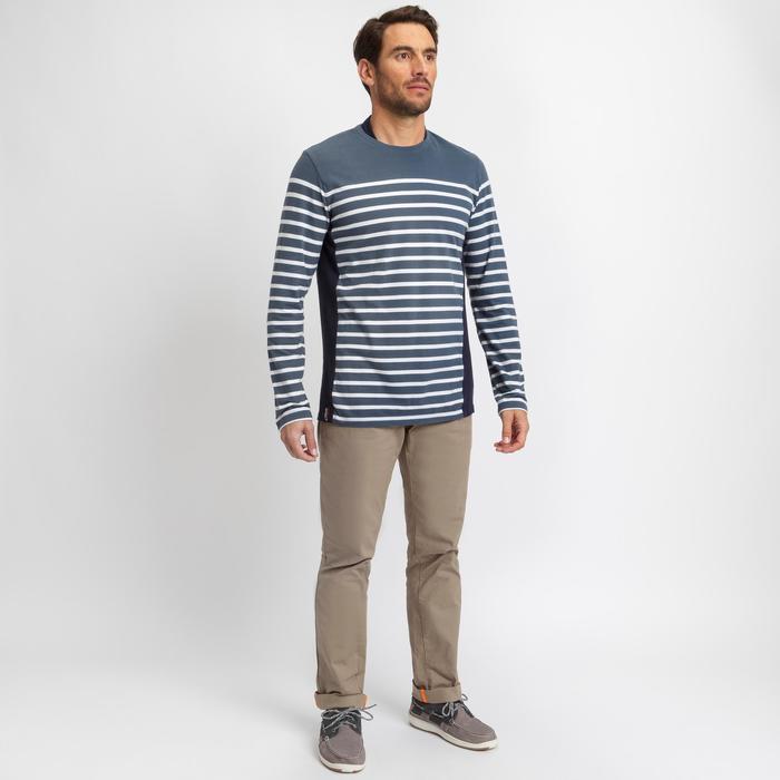 T-shirt manches longues de voile homme SAILING 100 Gris