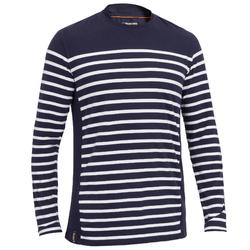 cc8942f4a3790 Camiseta Manga Larga Vela Tribord Sailing 100 Algodón Marinera Hombre Azul  Oscur